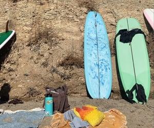beach, hobby, and sea image