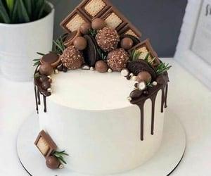 Blanc, brown, and cake image