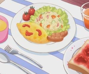 anime, anime food, and comida image