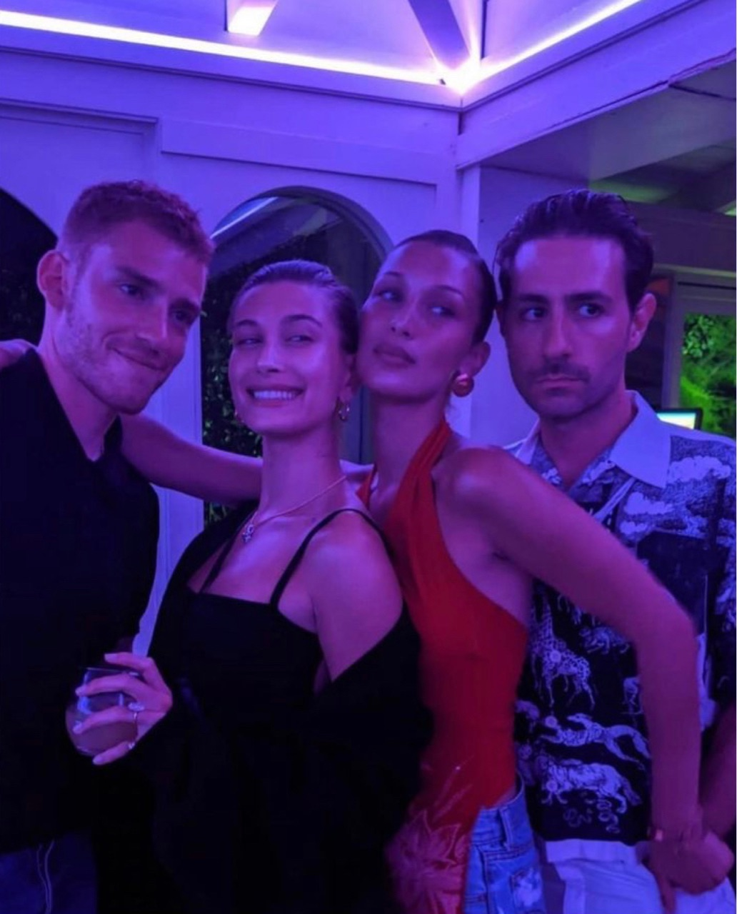 group, aes, and bella hadid image