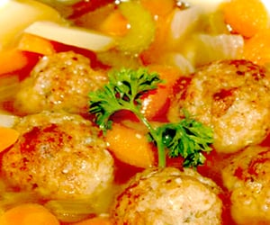 chicken soup, food, and recipes image