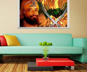 canvas print, indian painting, and etsy image