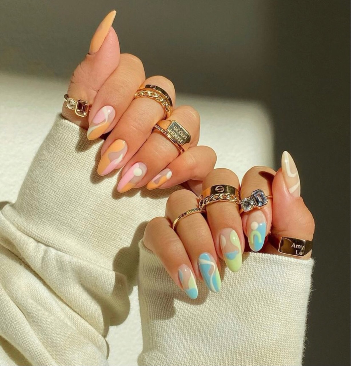 aesthetic, inspiration, and nails image
