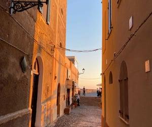 italy, Sardinia, and sunset image