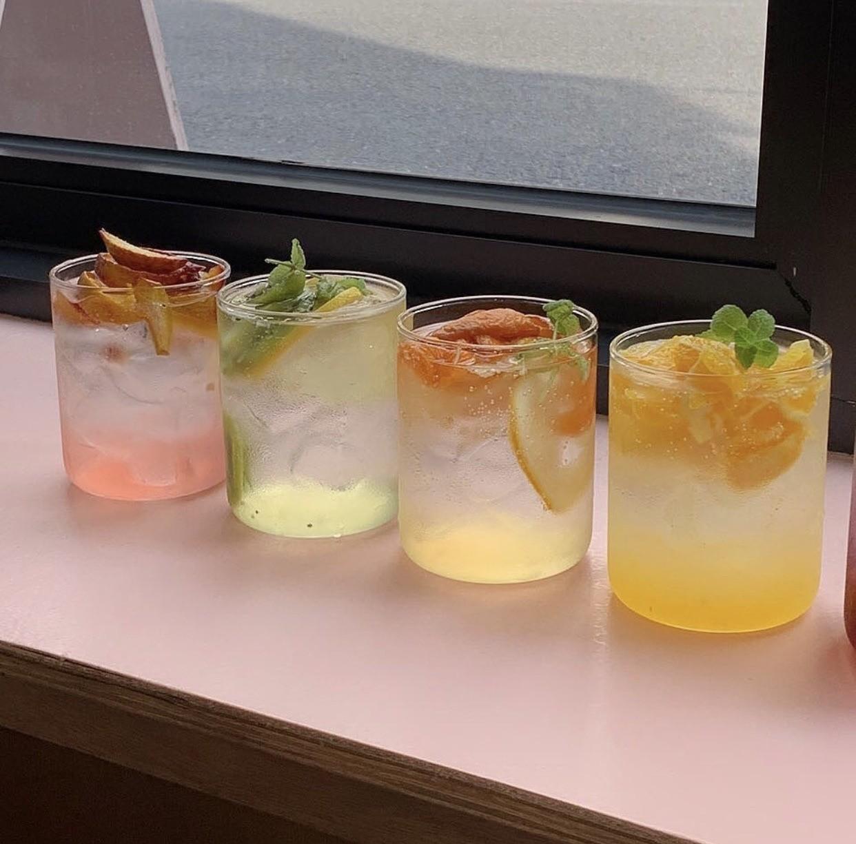 drink, summer, and beverages image