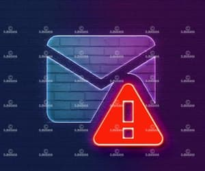 error, mail, and issue image