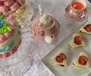 aesthetic, food, and tea party image