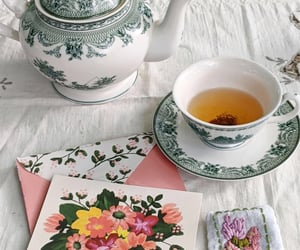 aesthetic, vintage, and tea party image