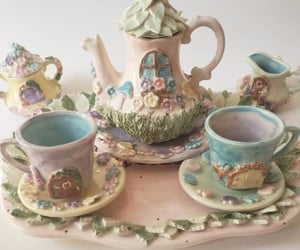 aesthetic, fairytale, and tea party image