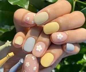 chic, nail art, and spring nails image