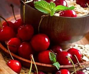 cherries, yummy, and cherry image