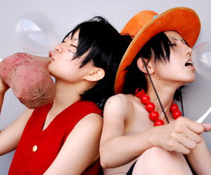 ace, cosplay, and meat image