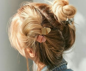hair, aesthetic, and hairstyle image