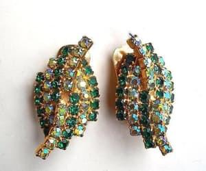 weiss, green earrings, and kramer earrings image
