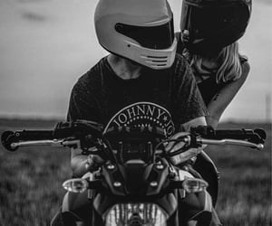 motorcycle, love, and ❤ image