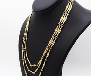 etsy, vintage trifari, and trifari necklace image