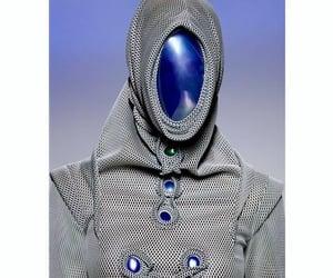dystopia, futuristic, and mask image