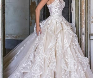 Blanc, dress, and long image