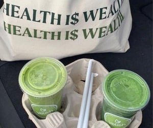 green, healthy, and green juice image