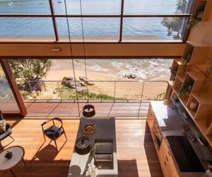 beach, kitchen, and home image