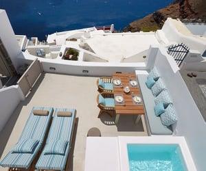architecture, blue sea, and Dream image