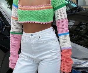 long sleeve, street style, and summer image