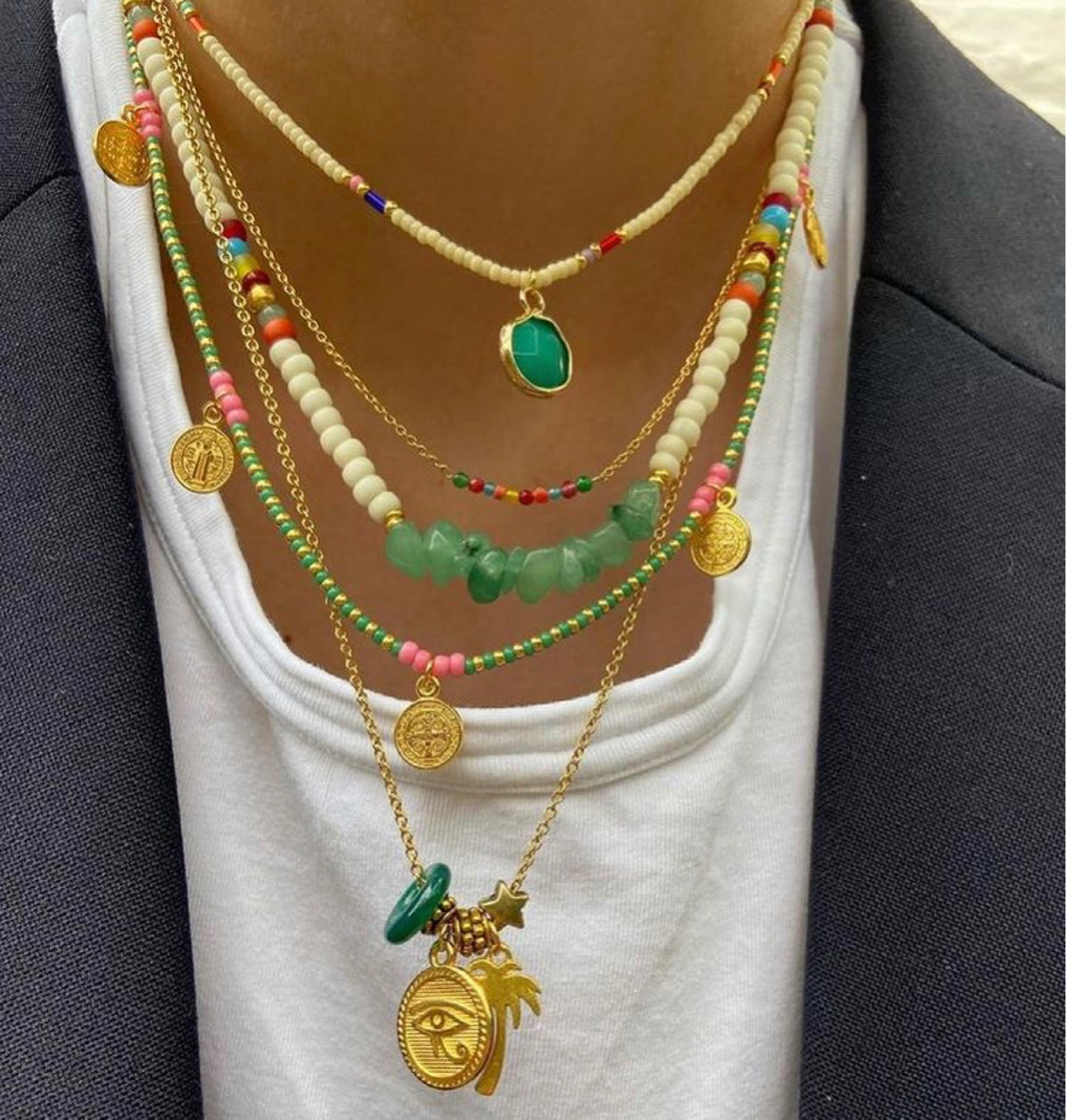 accessories, jewellery, and beaded necklaces image