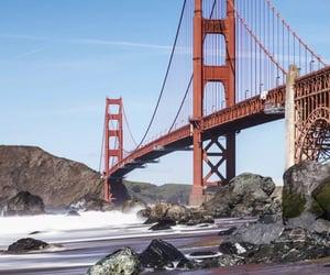 golden gate bridge, travel, and san francisco image