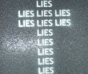 lies, cross, and black and white image