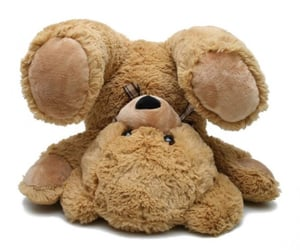 bear, beige, and toy image