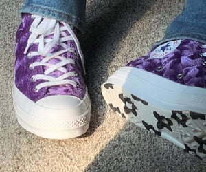 aesthetic, chucks, and converse image