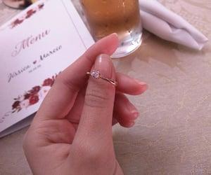 beer, hand, and natural nails image