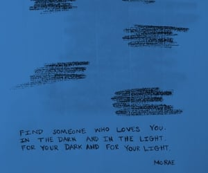 aesthetic, quotes, and blue aesthetic image