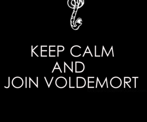 keep calm, harry potter, and voldemort image