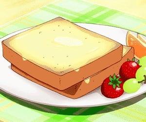 comida, food, and anime image