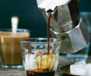 coffee maker, drink, and espresso image