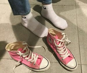 pink, converse, and nike image