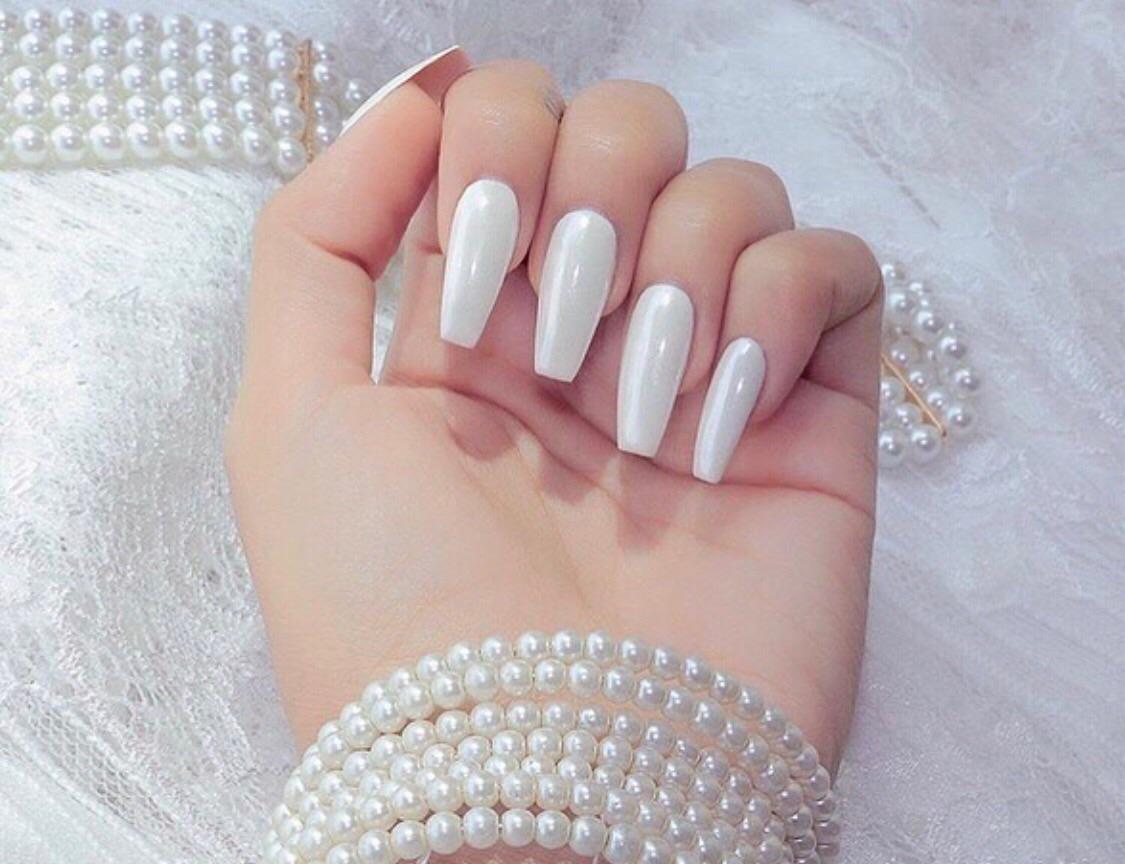 girl, nails, and girly things image