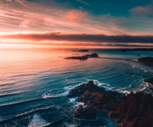 beach, sea, and summertime image