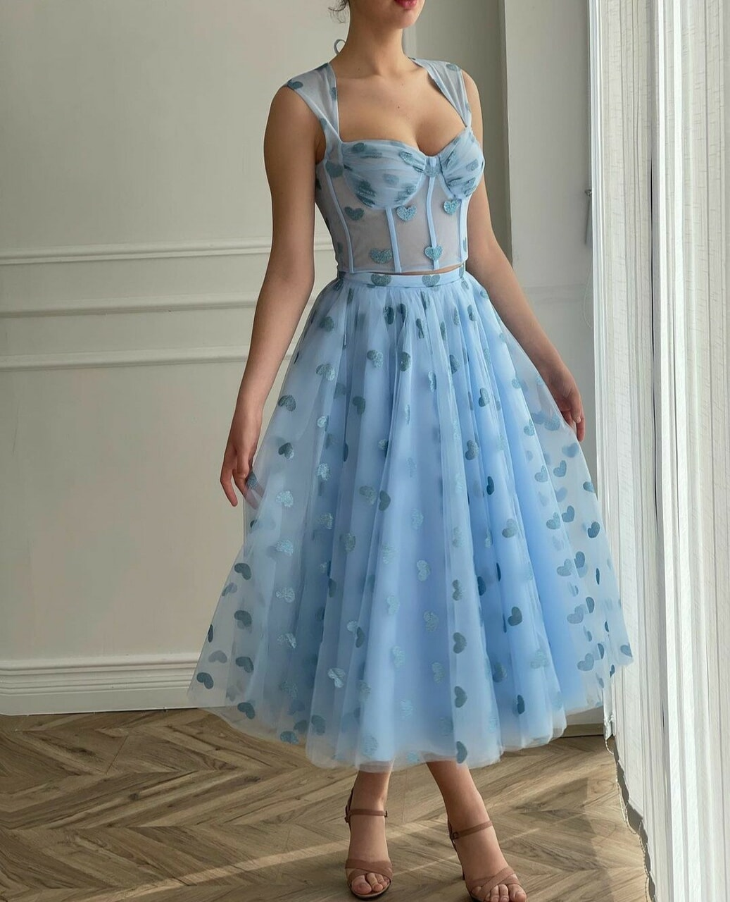 clothes, blue, and dress image