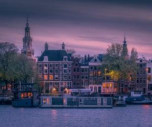 amsterdam, bridge, and city image