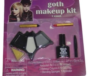 alt, goth, and purple image