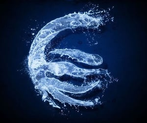 aesthetic, avatar, and water bender image