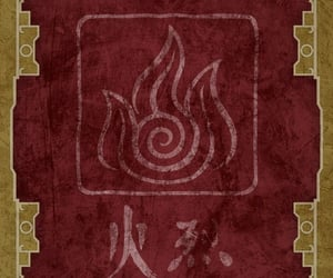 avatar, aesthetic, and fire bender image