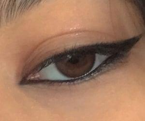 smokey eyes, vintage inspiration, and dreamy makeup image