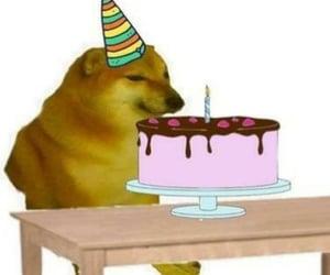 birthday and cheems image