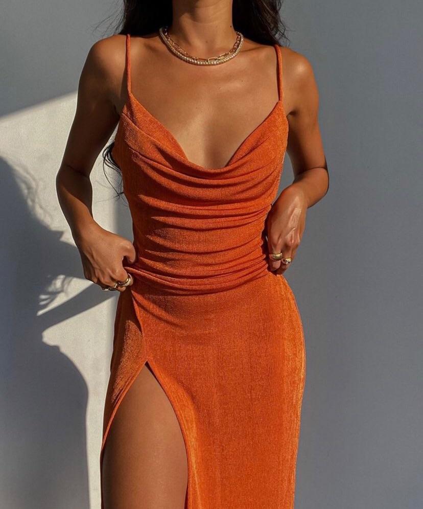 dress and orange image