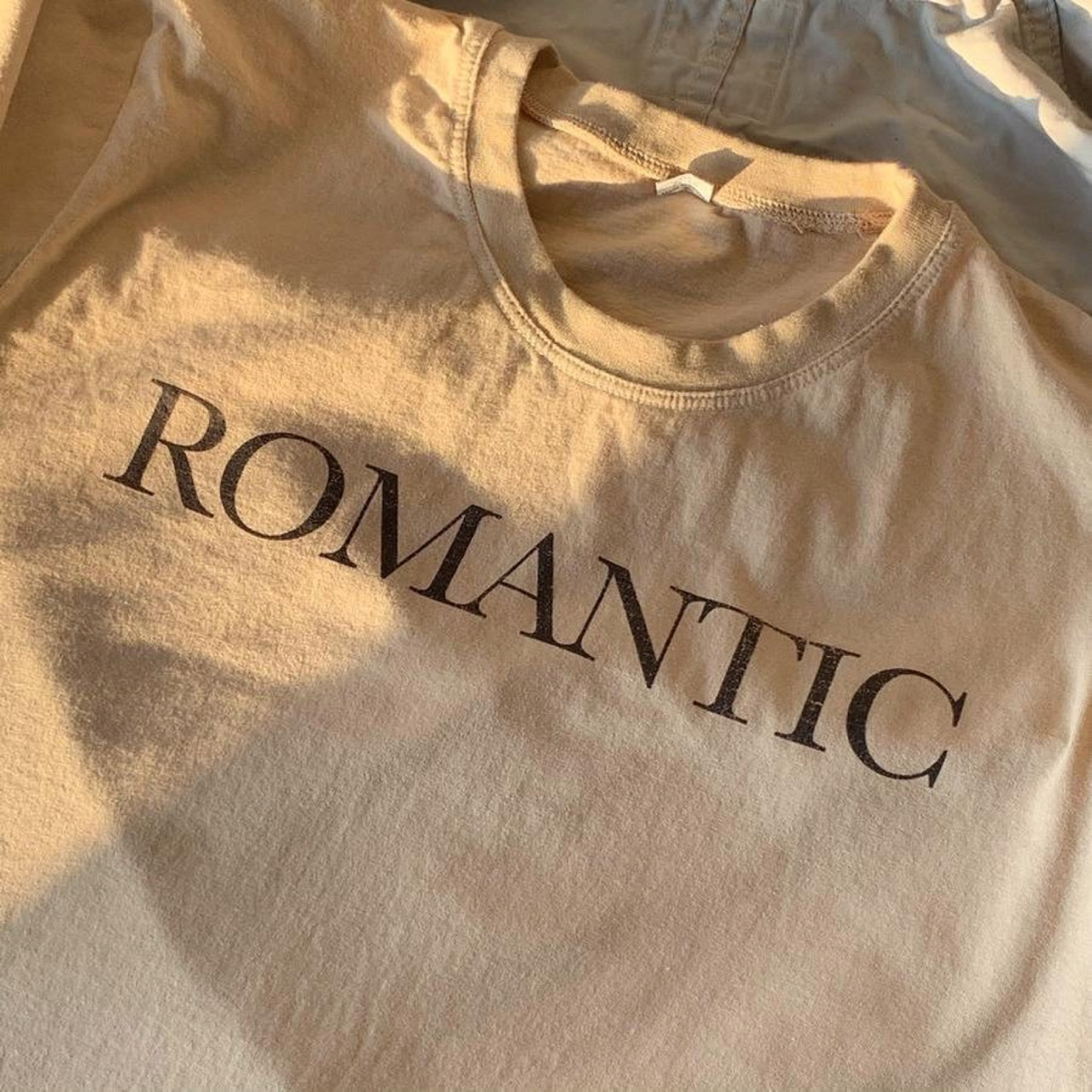 romantic and t-shirt image