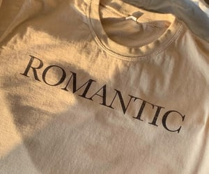 outfit, romantic, and t-shirt image