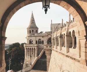 travel, castle, and architecture image